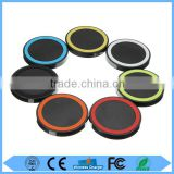 Hot Sale Colorful Round Shape 5V 2A Wireless Qi Charger