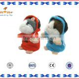 EN-71 Audited plush hamster doll toy talking & walking toys for baby