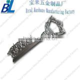 Zinc alloy antiqued key metal bottle opener