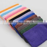 "230gsm 12"" X 12"" High Quality Cleaning Microfiber Towel / Microfiber Square Towel"