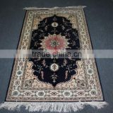 mosque prayer rug silk carpets hand knotted pure silk rug