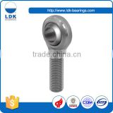 Self-lubricated metric rod ends stainless steel ball joint swivel bearings
