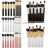10Pcs Cosmetic Make up Brushes Face Powder Blusher Foundation Kabuki Set Factory Direct Sales Make up Brush