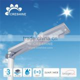 Energy Saving Factory Supplied LED Solar Street Light Motion Sensor Light