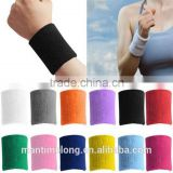 1 PCS Unisex Cotton Sweat Band Sweatband Wristband Arm Band Basketball Tennis Gym Yoga