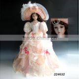Modern china made in china 22 inch ceramic doll