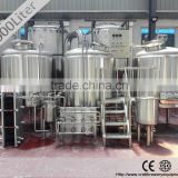 1000L,3000L,4000L,5000L draught beer brewery system for sale