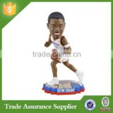 Characters Home Decoration Resin Material NBA Star Bobble Head