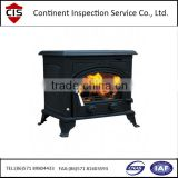 wood burning and coal stoves,gas stove,electric stoves,factory evaluation,trained inspectors,translators,pre-shipment inspection