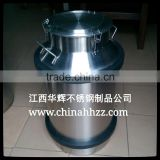 High quality food grade stainless steel pail milk container for sale                                                                         Quality Choice