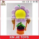 ICTI factory sunflower plush girls doll toy funny flower type plush toy hot sale plush sunflower toy for kids