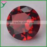 wholesale in bulk round colored glass stone for jewelry