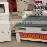new cnc router lathe woodworking engraving cutting machine/mulity heads/for MDF PVC from senke for export/CE ISO