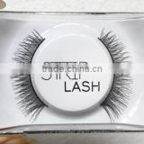 Low price Silk material false eyelash, Hand Made Type strip lashes false eyelash with various styles