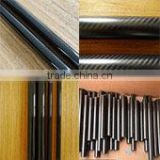 Good quality high temperature resistance large diameter price of carbon fiber tube wholesales