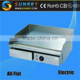 Industrial counter-top stainless steel vertical electric flat kebab grill prices with drawer