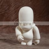diy blank plastic vinyl old man figure toys, factory make your own blank plastic vinyl toys for drawing