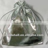 Organza Silver Gift Packaging Wedding Bags Wholesale Supplies(OP012)