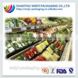 hot sale security food packing film pvc cling film