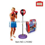 Children play game boxing set boxing speed ball boxing stand