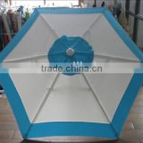 OEM & ODM highly quality leading manufactory of Shangyu blue and elegant rain umbrella mini beach umbrella or patio umbrella