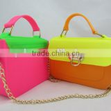 2014 Fashion Ladies bolso Silicon Bag,Silicone Handbag,Silicone Hand Bag ,Silicone Shoulder Bag ,Silicone Candy Bag.