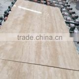 Polished Travertine Classic;Turkish Beige Marble Slab
