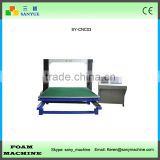 Worktable With 360 Angle Rotation Horizontal Vibrating Blade CNC Contour Foam Cutting Machine
