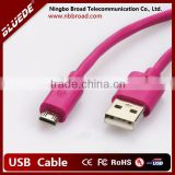 cheap best price usb 2.0 to micro usb cable 5 pin Pink white black blue 5ft 6ft 8ft 15ft