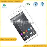 Premium Tempered Mobile Glass Screen Guard For Sony Xperia C