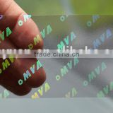 Custom Transparent Hologram, Card Overlay Hologram Sticker
