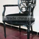 Antique Reproduction French Furniture - Spider Dining Arm Chairs - Mahogany Furniture Indonesia