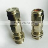 HongXiang Factory price brass m20 explosion proof cable gland                                                                         Quality Choice