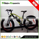 "2016 hot-selling 26"" sanyo electric bike snow electric fat bike 36v 500w with CE ( PN- TDE33Z )"
