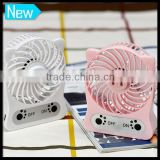 Fashion Usb Rechargeable Extension Mini Blower Fan