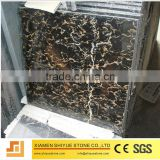 Cheapest Chinese Black Marble Portoro Gold Tiles