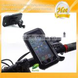 Bicycle Bike Motorcycle Handlebar Mount Holder IPX4 Waterproof Shockproof Case for iPhone 6 6S Black