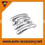 Plastic chrome plating door handle cover plates for Audi Q7 accessories