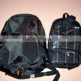 solar backpack for Laptop/solar energy bag/solar backpacks/Laptop bag with solar charger(OEM/ODM)--KA-SBP041
