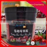 Hot Sale Cranberry Jam Mixed Fruit Jam For Dessert Bubble Tea Shop