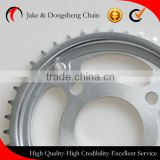 ZHEJIANG CHINA 1045 STEEL 40MN 428/114L-40T/14T motor chain and sprocket per set bajaj pular fine blanking sprocket