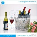 Functional Wine Barrel Beverage Bottle Rack Cooler Storage Bucket Excellent Houseware Plastic Holder