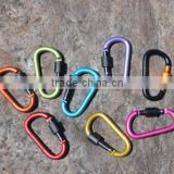 Aluminium Multifunctional Promotional High Quality D Type Mountaineering Backpack Buckle