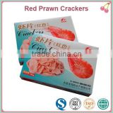 180g Small Box Package High Protein Crackers Red Shrimp Chips