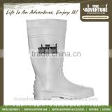 True Adventure TA2-014 Outdoor China Supplier Man Waterproof PVC Rubber Safety Rain Boots Industrial Safety Rain Boots