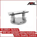 2016 Durable Casting 304/316 stainless steel polished inox table base,handrail casting flange