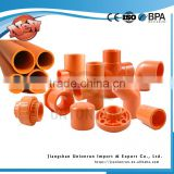 Alibaba Express China Plastic CPVC Pipe Fitting For Fire Sprinkler