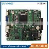 Mini - ITX Motherboard VWM-LH81 Supporting Intel Haswell Core i7/i5/i3 in LGA1150 CPU DDR3