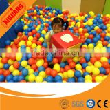 Clear yellow purple white blue attractive colorful plastic ball pit balls for kids games