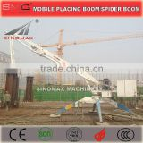 SINOMAX HGY17 17m Hydraulic Mobile Concrete Placing Boom, Spider Boom, Distributor for sales in China with Top Quality